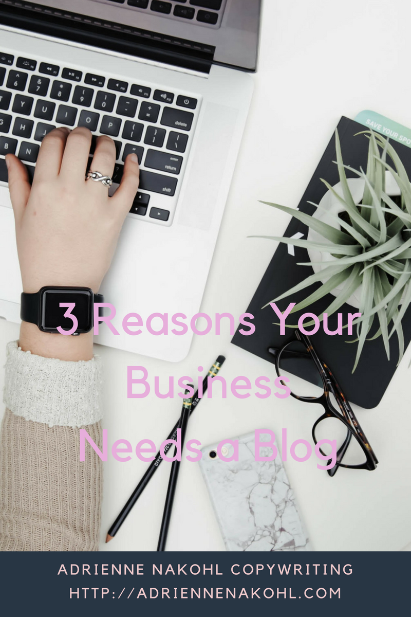 3 Reasons Your Business Needs a Blog